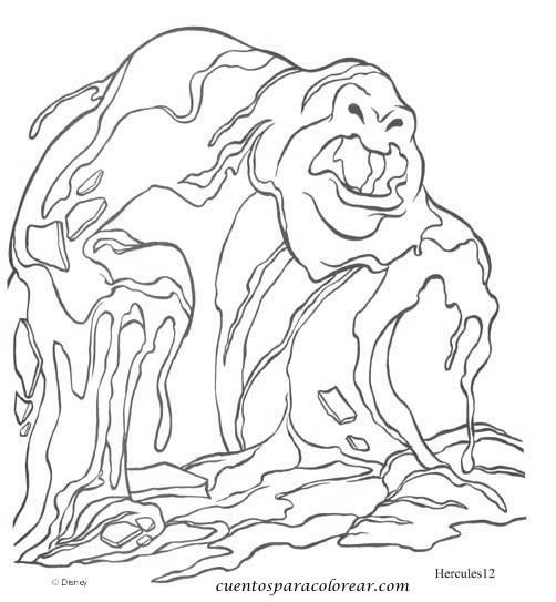 Dibujos para colorear Hércules Disney