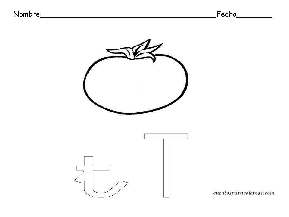 Fichas educativas de letras