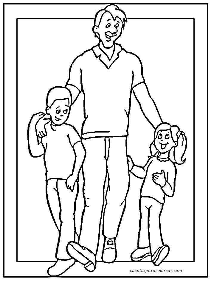 Asombroso Me Encanta Papá Para Colorear Modelo - Dibujos Para ...