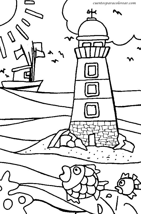 Dibujos Para Colorear Vacaciones