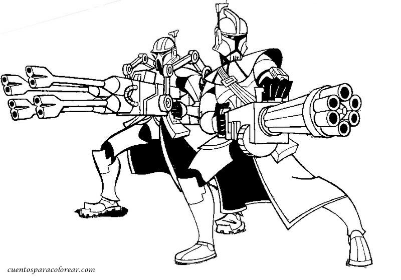 Dibujos para colorear la guerra de las galaxias - Coloriage de star wars lego ...