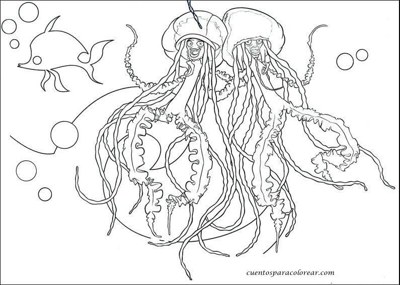 Dibujos para colorear tiburones - Coloriage de requin a imprimer ...