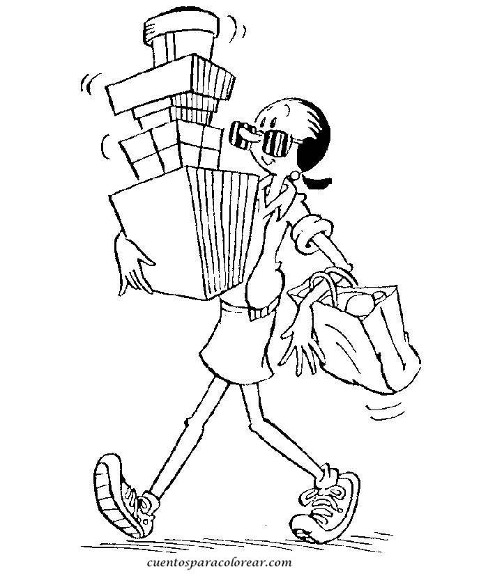 Dibujos para colorear Popeye