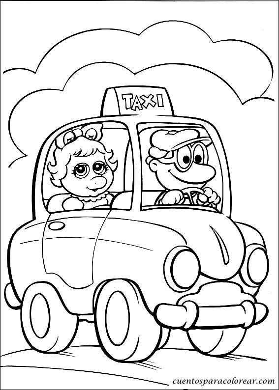 Dibujos Para Colorear Tele 241 Ecos Peque 241 Os